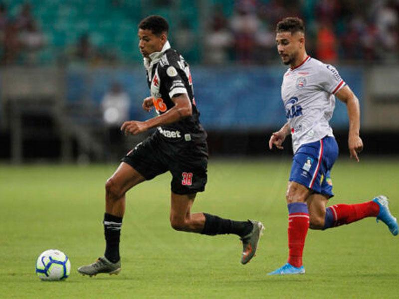 Bahia e Vasco empatam em partida com polêmicas do VAR