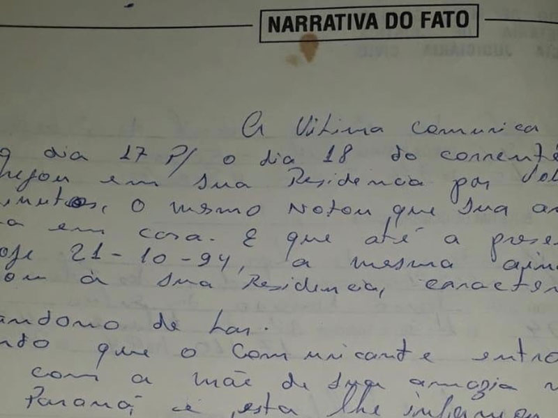 Idoso procura polícia e diz ter matado mulher e enterrado corpo no banheiro há 24 anos em MT