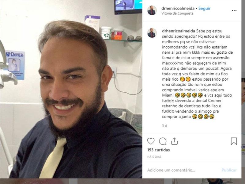 Ex-estudante de odontologia investigado por lesão corporal na BA volta à prisão dois meses após ser solto