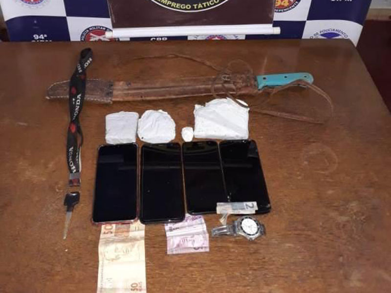 Polícia Militar apreende garotos com drogas em detém suspeitos de homicídio em Caetité
