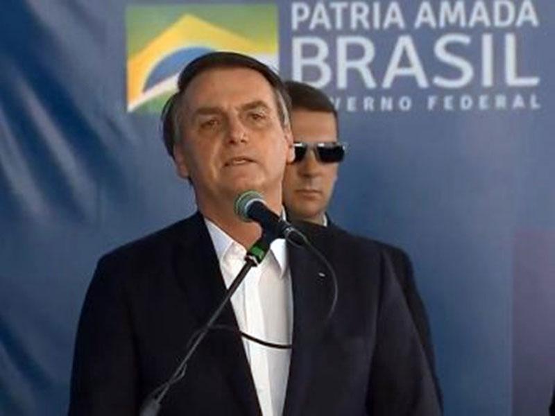 Eu não estou no Nordeste, estou no Brasil', diz Bolsonaro em discurso em Petrolina