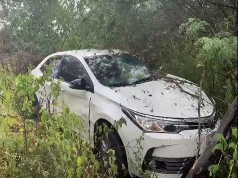 Cantor Batista Lima sofre acidente de carro no interior do Pernambuco