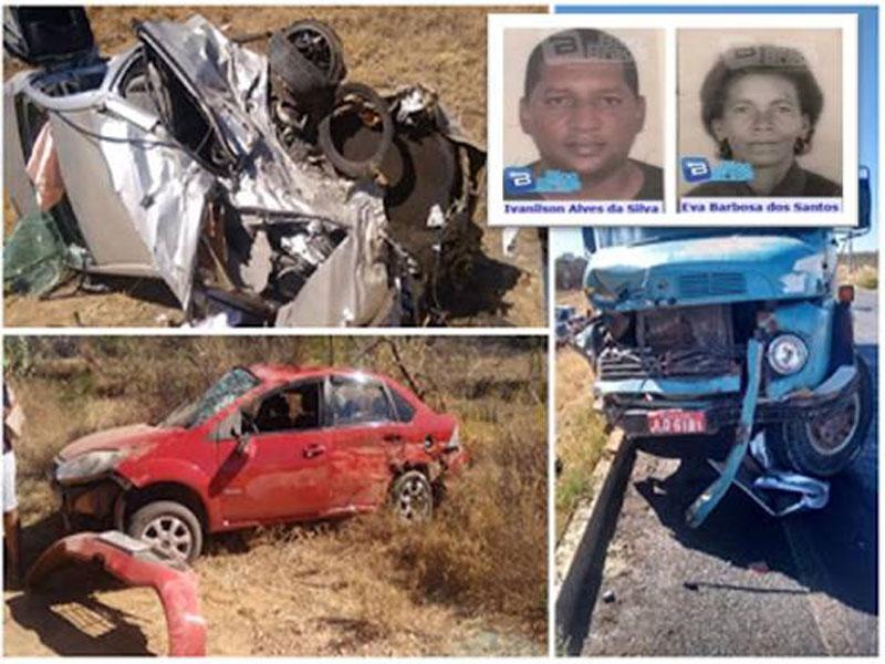 Bom Jesus da Lapa-BA, registrou três acidentes e quatro mortes em menos de 24 horas.
