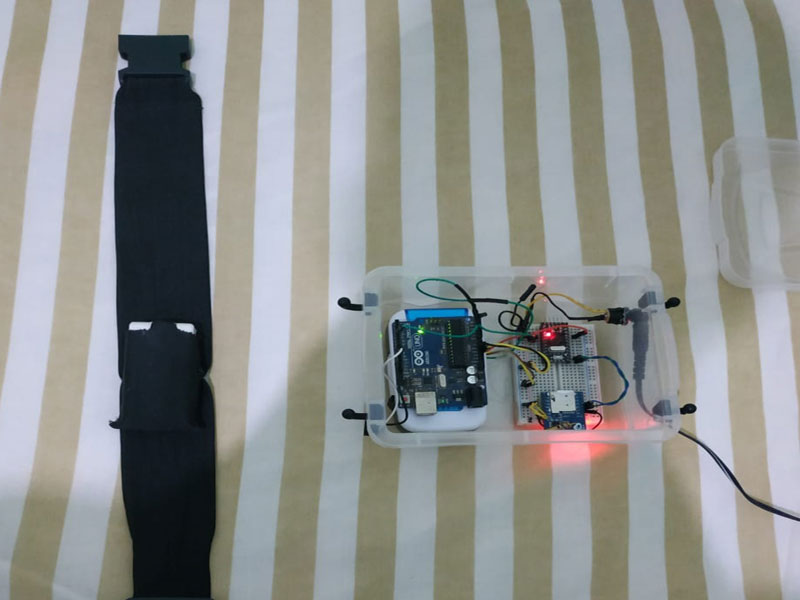 Estudantes de Caetité desenvolvem dispositivo para evitar  afogamentos de crianças em piscinas