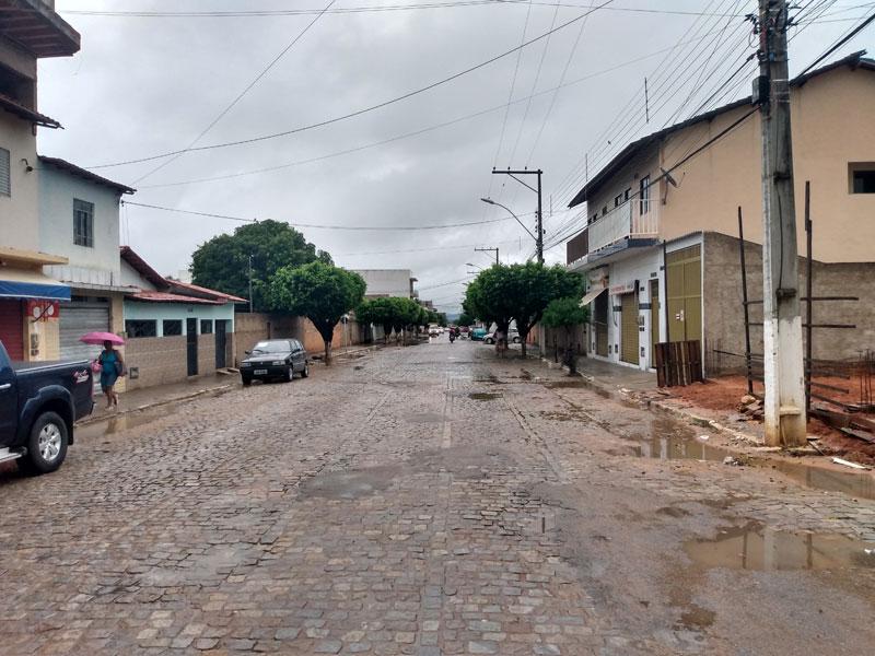 Livramento: Cidade segue com registro de chuvas nesta terça-feira (14)