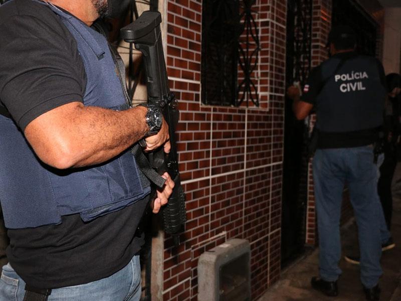 Homicida foragido da Bahia é preso em Goiás