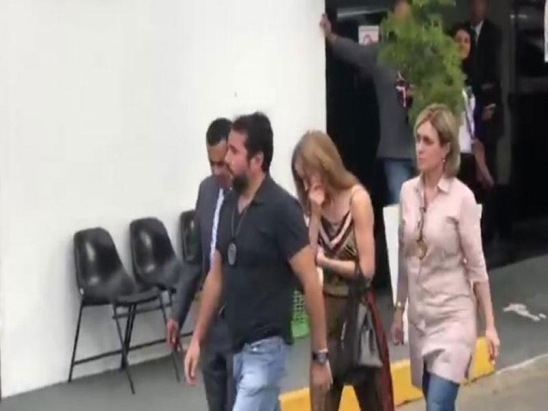 Celular de Najila sumiu após 1º depoimento sobre caso Neymar, afirma advogado