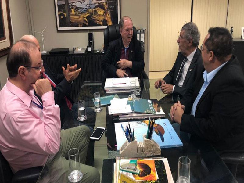 Herzem Gusmão se reúne com vice-governador para abordar demandas de Vitória da Conquista