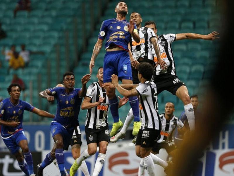 Brasileirão: Bahia e Atlético-MG empatam na Fonte Nova