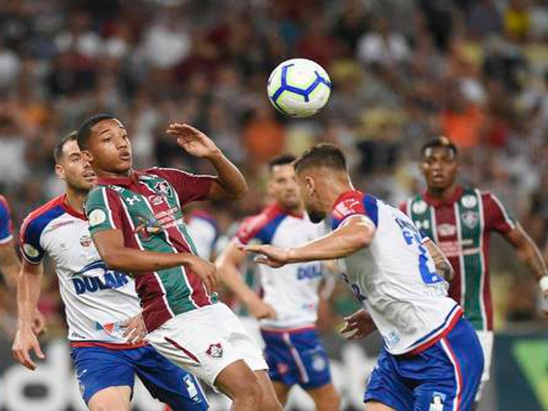 Brasileirão: Bahia perde para o Fluminense
