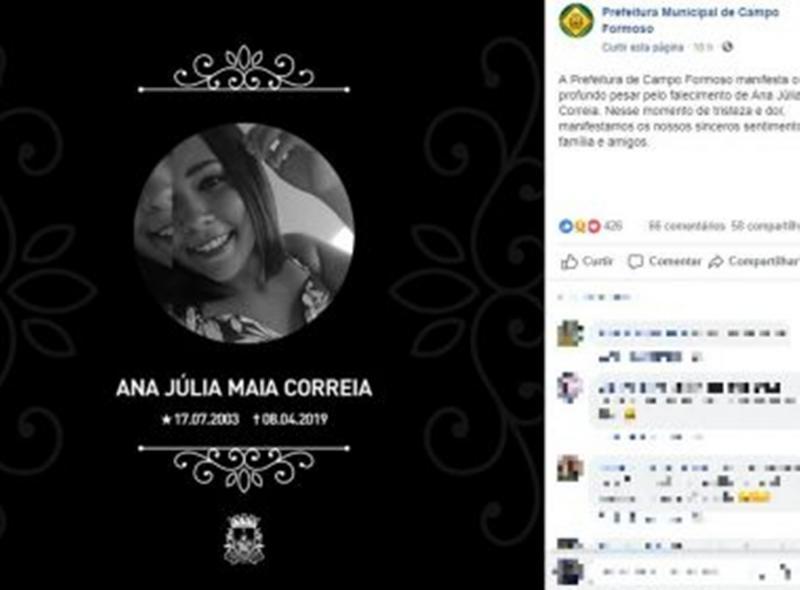 Campo Formoso: Homem mata filha de ex com 20 facadas após mulher negar reconciliação